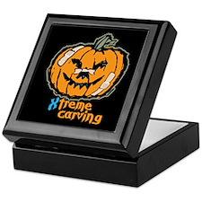 Xtreme Pumpkin Carving Keepsake Box