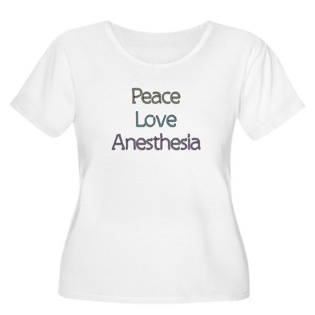 Anesthesiologist Gift Women's Plus Size Scoop Neck