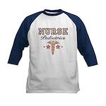 Pediatrics Nurse Kids Baseball Jersey