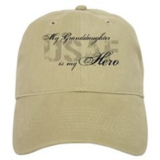 Granddaughter is my Hero USAF Baseball Cap