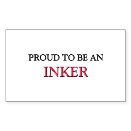Proud To Be A INKER Rectangle Sticker