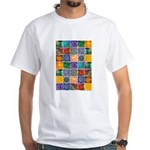 """The Crystal Quilt"" White T-Shirt"