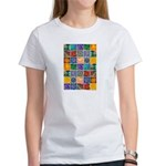"""The Crystal Quilt"" Women's T-Shirt"