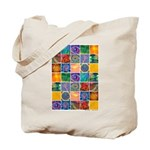 """The Crystal Quilt"" Tote Bag"
