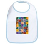 """The Crystal Quilt"" Bib"