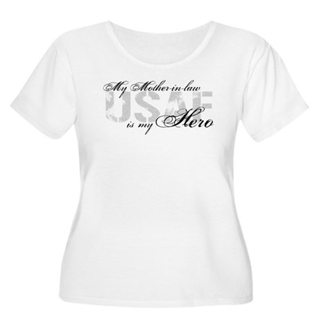 Mother-in-law is my Hero USAF Women's Plus Size Sc