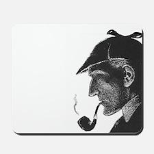 Sherlock Holmes Profile Mousepad