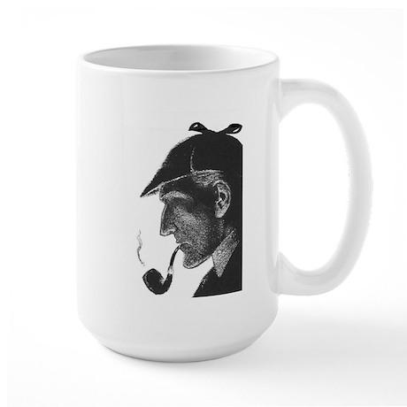Sherlock Holmes Profile Large Mug