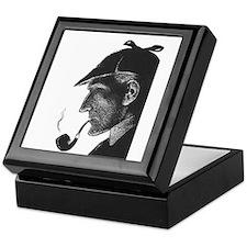 Sherlock Holmes Profile Keepsake Box
