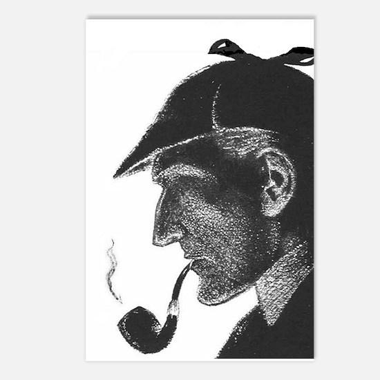 Sherlock Holmes Profile Postcards (Package of 8)