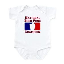 Beer Pong Champ Infant Bodysuit