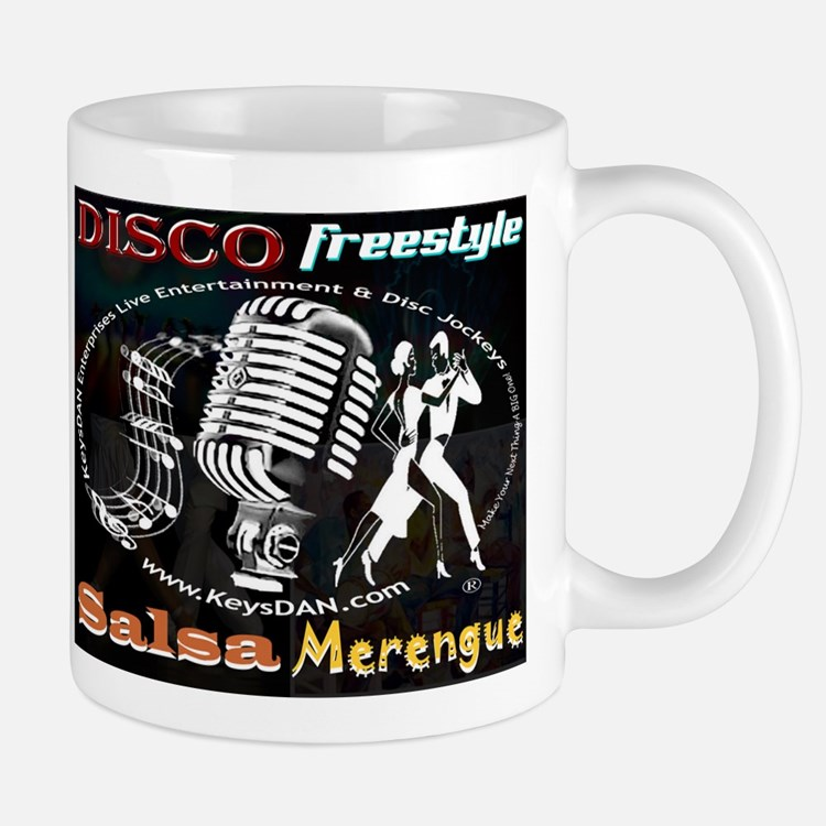 KeysDAN Disco Freestyle Salsa Mug