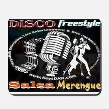 KeysDAN Disco Freestyle Salsa Mousepad