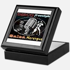 KeysDAN Disco Freestyle Salsa Keepsake Box