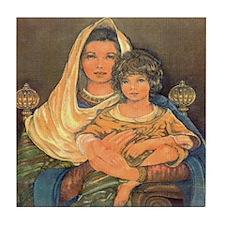 Baby Jesus Tile Coaster