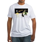 Night Flight/Dobie #1 Fitted T-Shirt