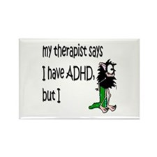 ADHD Rectangle Magnet