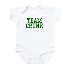 Team Crunk Infant Bodysuit