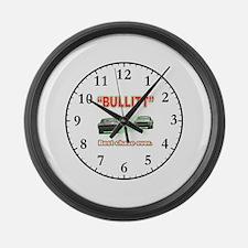 Bullitt Large Wall Clock
