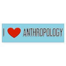 Anthropology gift Bumper Bumper Sticker