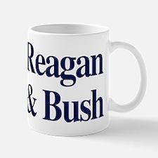Reagan Bush 1980 Mug