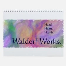 Waldorf Works, Original Art Wall Calendar
