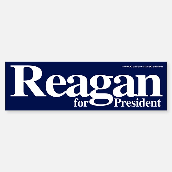 Reagan for President Bumper Bumper Bumper Sticker
