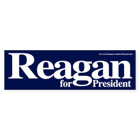 Reagan for President Bumper Sticker