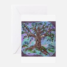 Ancient Tree Greeting Card