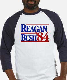 Reagan Bush 1984 Baseball Jersey