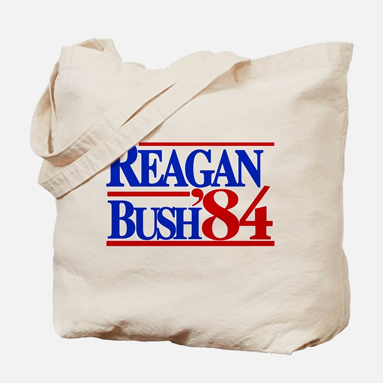 Reagan Bush 1984 Tote Bag