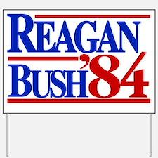 Reagan Bush 1984 Yard Sign