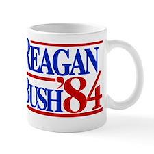 Reagan Bush 1984 Small Mug