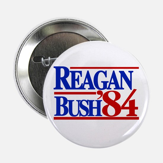 "Reagan Bush 1984 2.25"" Button (10 pack)"