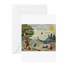 Gnome Playground Greeting Cards (Pk of 10)