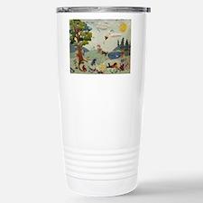 Gnome Playground Travel Mug