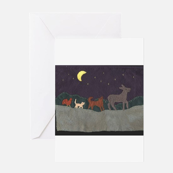 Brementown Musicians Greeting Card