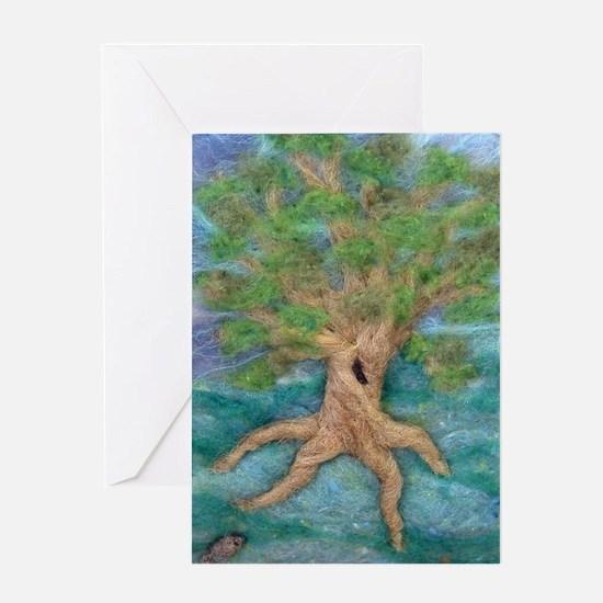 Summer Tree Greeting Card