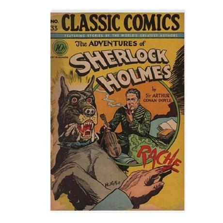Holmes Adventures Postcards (Package of 8)