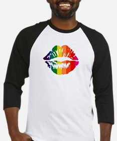 Rainbow Kiss Baseball Jersey