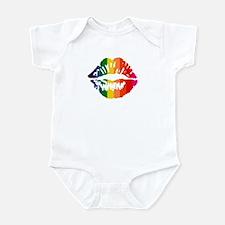 Rainbow Kiss Infant Bodysuit