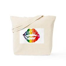 Rainbow Kiss Tote Bag