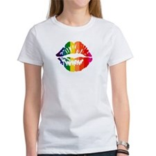 Rainbow Kiss Tee