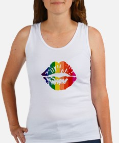 Rainbow Kiss Women's Tank Top
