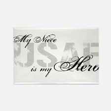 Niece is my Hero USAF Rectangle Magnet