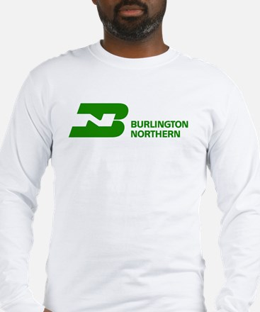 Burlington Northern Long Sleeve T-Shirt