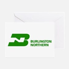 Burlington Northern Greeting Card