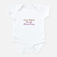 Timneh African Grey Infant Bodysuit
