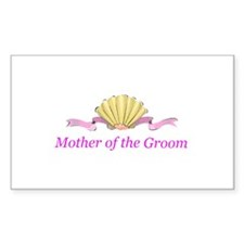 Mother of the Groom Rectangle Sticker 10 pk)