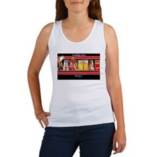 Savannah Georgia Greetings Women's Tank Top